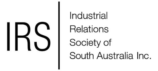 Industrial Relations Society of South Australia Inc.
